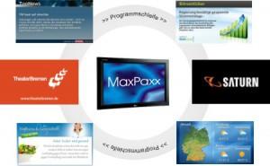MaxPaxx, InfoTV, Programmschleife