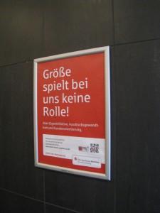 CityTOI-Motiv für die Herrentoilette