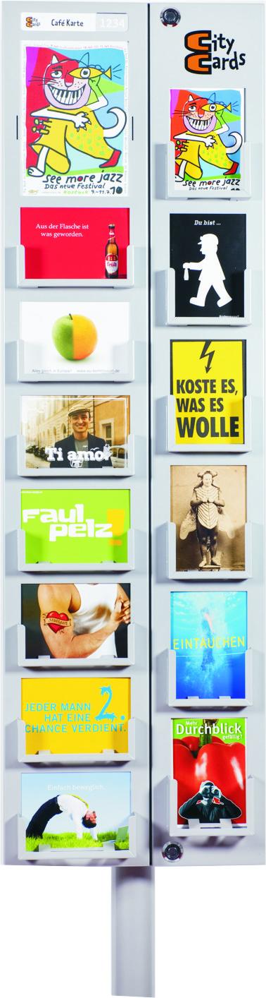 CityCards Display UNICARDS MEDIEN, Bremen