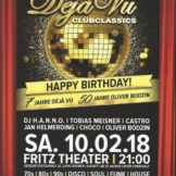 Déjà Vu Party im Fritz Theater