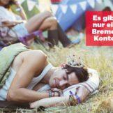 """Sparkasse wirbt auf CityCards für """"Bremer Konto"""""""