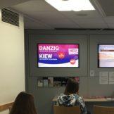 Bremen Airport wirbt für neue Fluglinien via Maxpaxx Info-TV