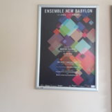 Ensemble New Babylon auf UNICARDS Werbemedien