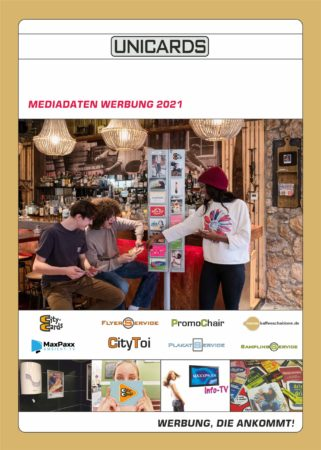 Deckblatt Mediadaten Werbung 2021
